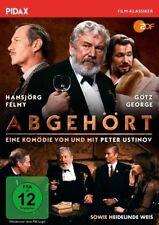 Abgehört * DVD Komödie Peter Ustinov Hansjörg Felmy Götz George Pidax Neu
