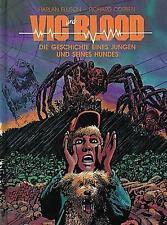 Vic y Blood (z1), Edition arte del cómic