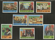 Salvation Army 100 years set of 8 mnh stamps 1980 Zaire #960-7