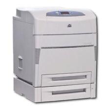HP Color Laserjet 5550DTN Farb Laserdrucker Duplex LAN Netzwerk Drucker mit Tone