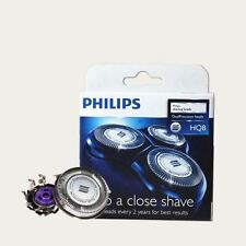 Genuine Shaver Razor Placement Blades Heads for Philips HQ8 (2years)(Plain Pack)