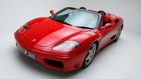 2001 Ferrari 360 Spider Auto Car Art Silk Wall Poster Print 24x36""