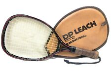 Vtg Excellent Dp Leach Free Spirit Racquetball Racquet And Zip Case Fit for life