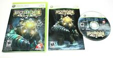 BioShock 2 (Microsoft Xbox 360, 2010) Complete No Scratch on the CD