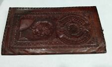 Vintage Mexican Leather Billfold Wallet