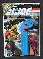 "GI Joe ARAH 1988 MOC 3 3/4"" Voltar Destro's General Roadblock Micro Figure"