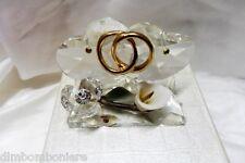 Bomboniere cuori in cristallo swarovski  50° anniverario matrimonio sposi nozze
