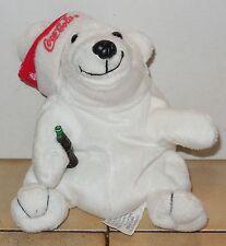 "Coca Cola Polar Bear 6"" Beanie Baby Plush Stuffed Animals Rare Htf #2"