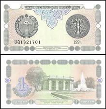 Uzbekistan 1 Sum, 1994, P-73, UNC