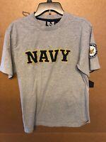 Rapid Dominance Stitched Mens Navy Shirt W/ Arm Badge Sz Large