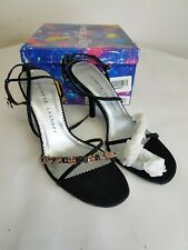 Chinese Laundry Womens Shoe Size 7 Strappy Heel Black      Bin51