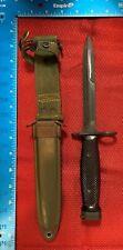 Vintage Bayonet Us M7 Conetta Us M8A1 Fighting Knife Vietnam Yt42