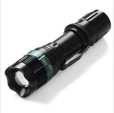 4000 Lumen Torch Light Focus Zoomable Q5 LED Lamp Zoom Flashlight CREE XML