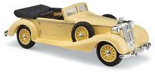 Busch 41337 , HORCH 853 Convertible abierta, amarillo, H0 modelo 1:87