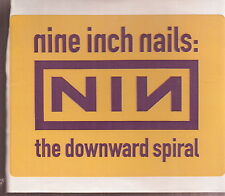 nine inch nails sticker for the downward spiral