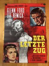 Letzte Zug (Kinoplakat ´62) - Lee Remick / Glenn Ford / Stefanie Powers