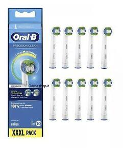 Oral B Precision Clean 10 Testine. Prodotto Nuovo Sigillato Originale