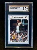 1990 Collegiate Collection #93 Michael Jordan SGC 10 Gold Label Pop 1