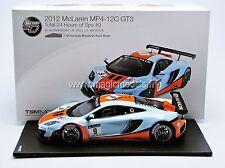 TSM Mc Laren MP4-12C GT3 SPA 2012 #9 Gulf Racing LE of 300 1/18 New! In Stock!