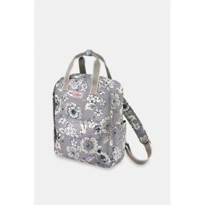 Cath Kidston Chintz Flower Recycled Utility Backpack - Deep Grey - BNWT -Was £60