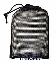 Treksilk: MUMMY WHITE 100% Mulberry Silk Liner Sleeping Bag Travel Sheet