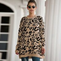 Knit Shirt Knitted Loose Womens Pullover Jumper Knitwear Long Sleeve Sweater