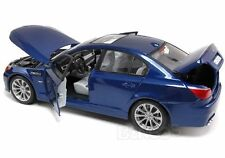 BMW M5 E60   SEDAN METALLIC BLUE NIB