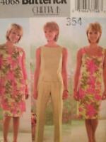 Butterick Sewing Pattern 4068 Ladies Misses Jacket Dress Top Pants Size 6-10 UC