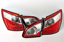 Tail Lights Rear Lamps Full SET VALEO Fits NISSAN Qashqai +2 Facelift 2010 -