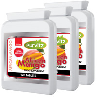 Mango Africano 1200mg 360 Compresse Dieta Perdita Peso Purvitz UK
