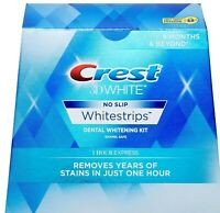Crest 3D Whitestrips 1 Hour Express Dental Whitening Kit White Strips No Box
