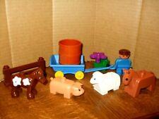LEGO DUPLO FARM ~ ANIMALS ~ CART          (21)