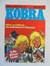 Kobra Comic Heft Nr.6 (eingetütet & geboardet) Zustand 1-2