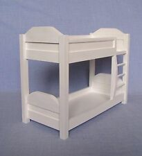 Bunk Bed for 12 inch doll 1:6 scale Bedroom Furniture Barbie size Dollhouse