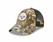 Pittsburgh Steelers Era Realtree Trucker Mesh 9forty Adjustable Hat - Camo