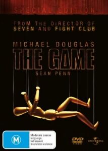 The Game DVD - REG 4 AU - Michael Douglas Special Edition - DAVID FINCHER FILM