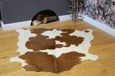 Kalbsfell Nr. 32 Rotbraun/Weiß Rinderfell Kuhfell Cowhide 132 x 100 cm