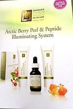 Eminence Arctic Berry Peel & Peptide Illuminating System Sample ~Set of 3 Cards~
