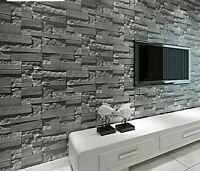 Pattern Wallpapers 3d Bricks Design For Home Living Room Wall Cover Decorations