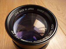 Hoya HMC Camera Lens TELE-AUTO f = 135 mm - 1:2 .8 - 52 Inc Case No Len cover
