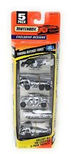 Matchbox MBX Superfast 5 Pack 1997 Tundra Defense Force Hummer Abrams Tank boxed