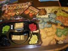 Risk The Lord of the Rings Middle Earth Conquest Edition Board Game With Ring!