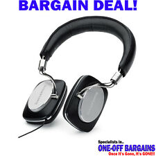 BOWERS WILKINS P5 Mobile WIRED Closed Back PREMIUM Headphones Black - FREE PP