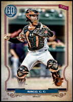 Chance Sisco 2020 Topps Gypsy Queen 5x7 #121 /49 Orioles