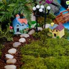 Bestseller! 4* Mini nett Haus Villa aus Harz Microlandschaft Blumentopf Zierde