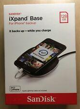NEW Genuine SanDisk 128GB iXpand Base iPhone Backup & Charger SDIB20N-128G