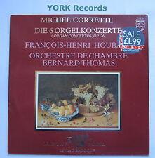 9502 068 - CORRETTE - 6 Organ Concertos HOUBART Bernard Thomas CO - Ex LP Record