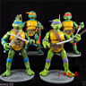 Teenage Mutant Ninja Turtles Classic Collection Action Figures 4 Pcs TMNT Toys