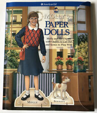 New American Girl Molly's Paper Dolls 2003