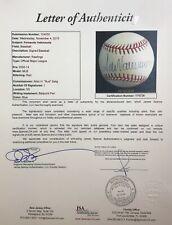 """Fernando Valenzuela signed OML ball - HOF, Dodgers- """"CY"""" """"No Hitter"""" - PSA/DNA"""